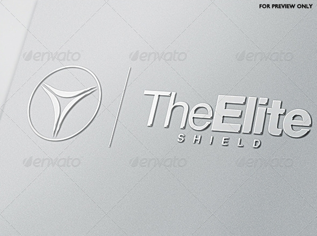 The Elite Shield Logo