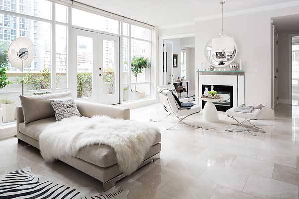 Italian Glossy Flooring Design