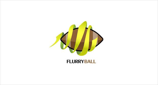 FlurryBall Symmetric Logo