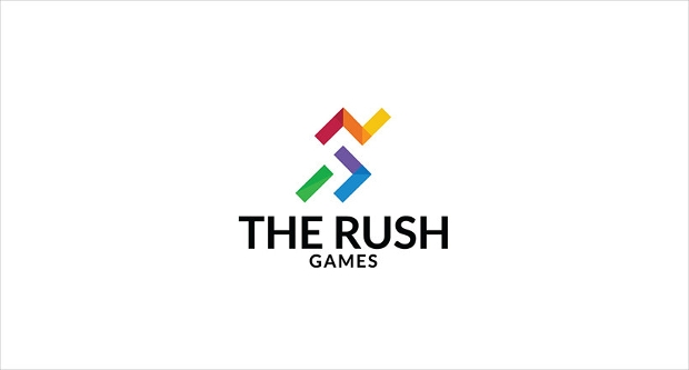 Rush Game Logo Design