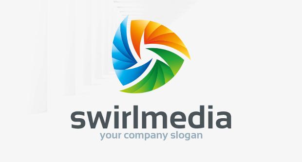 Swirlmedia Logo Design