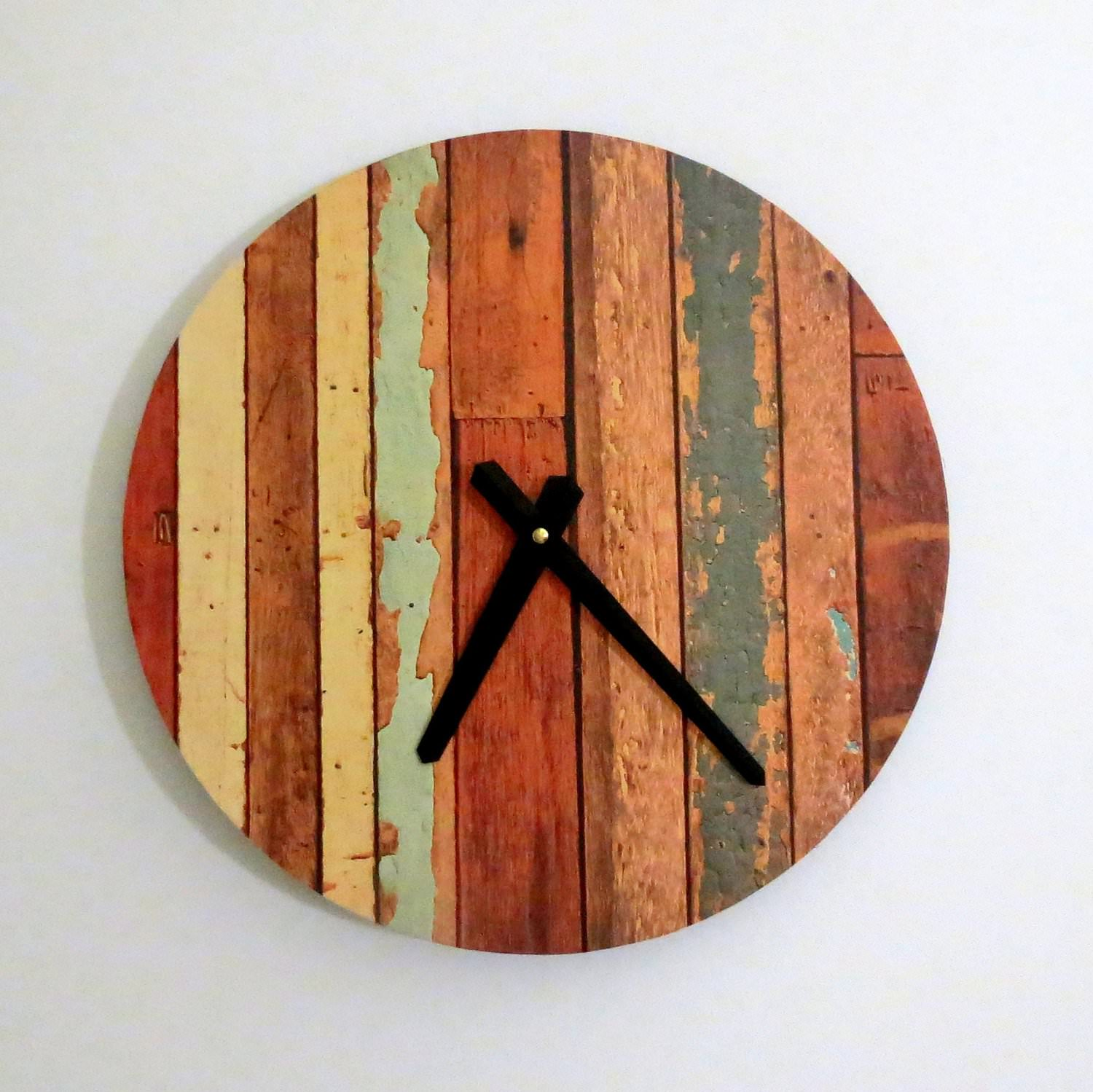 Wall Clock Design Photo : Handmade wall clocks designs design