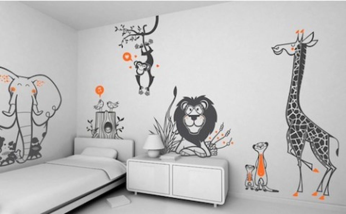 Kid Bedroom Wallpaper Design