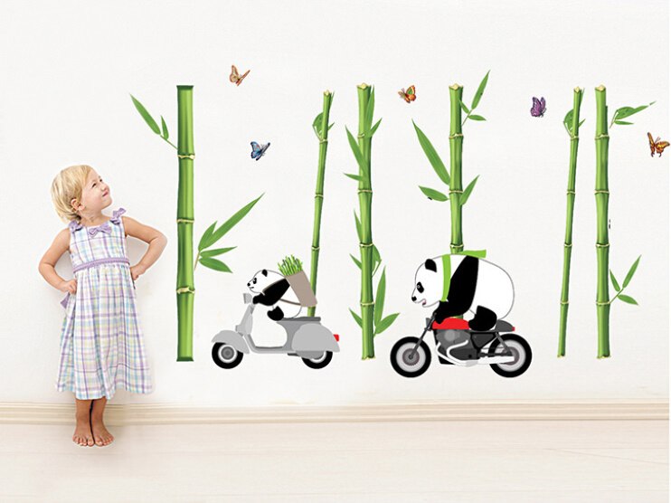 Removable Kid Wallpaper Design