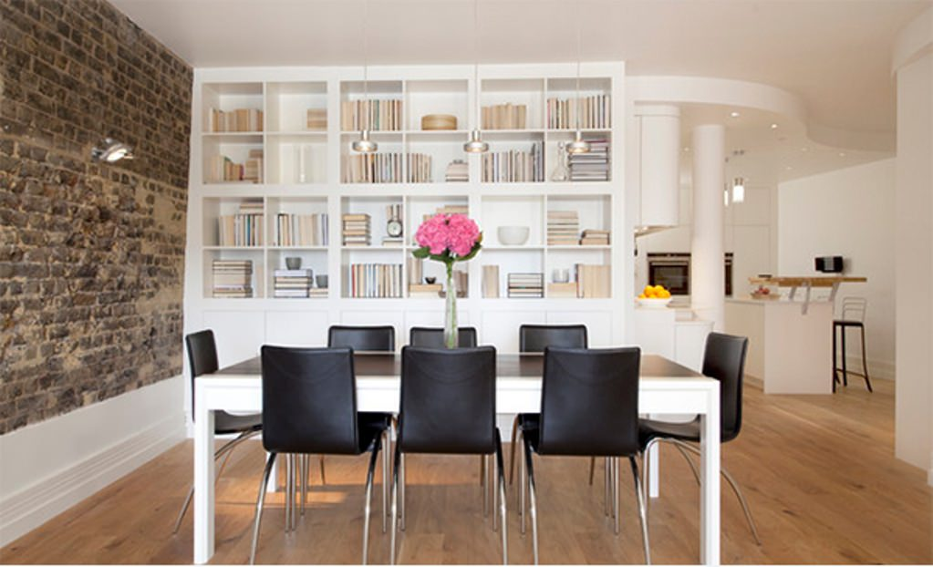 Contemporary Dazzling Dining Room Design