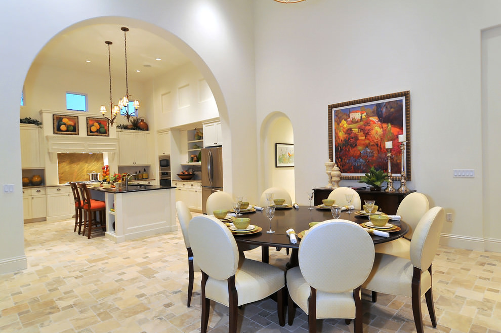 Expandable Dazzling Dining Room Design