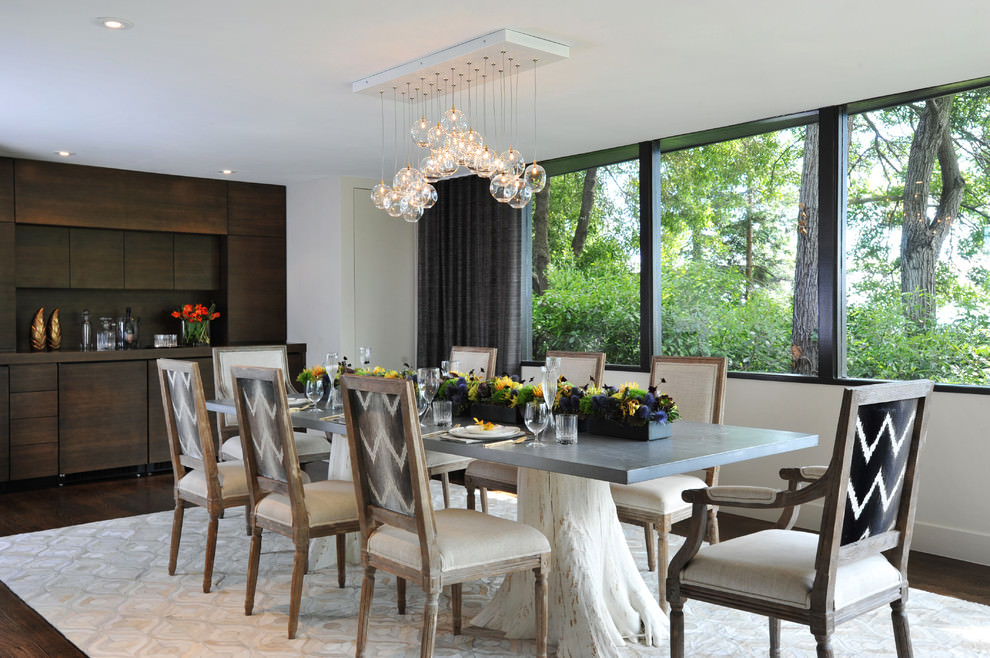 San Francisco Dazzling Dining Room Design