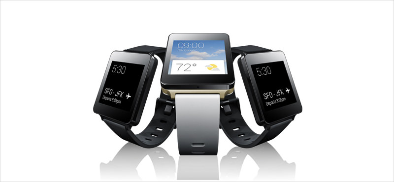 LG W100 Smart Watch.