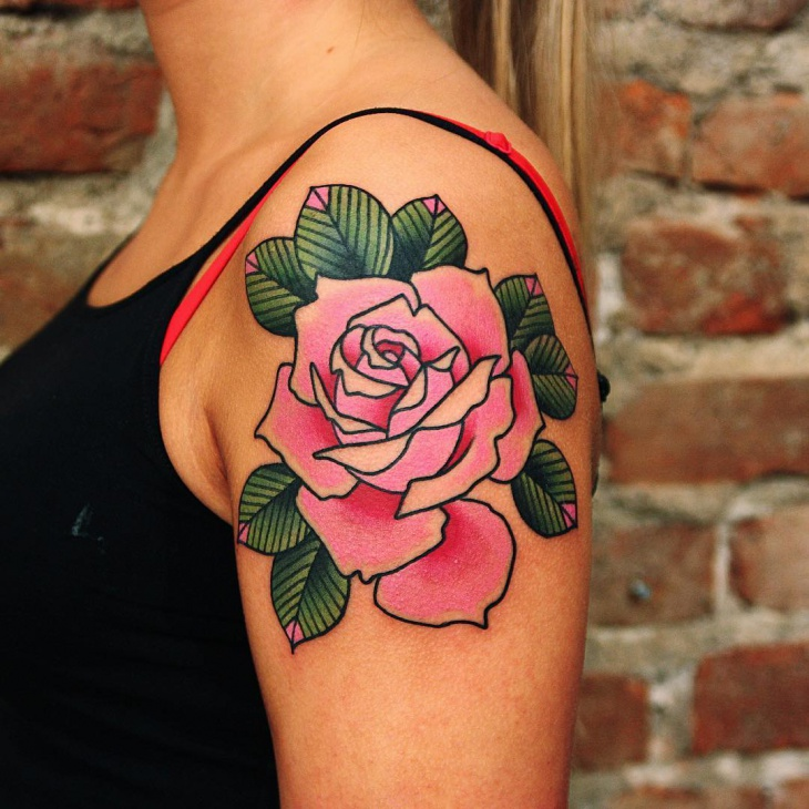 20 rose tattoo designs ideas design trends premium psd vector pink rose tattoo design mightylinksfo