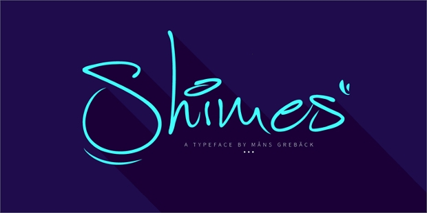 shimes personal use font