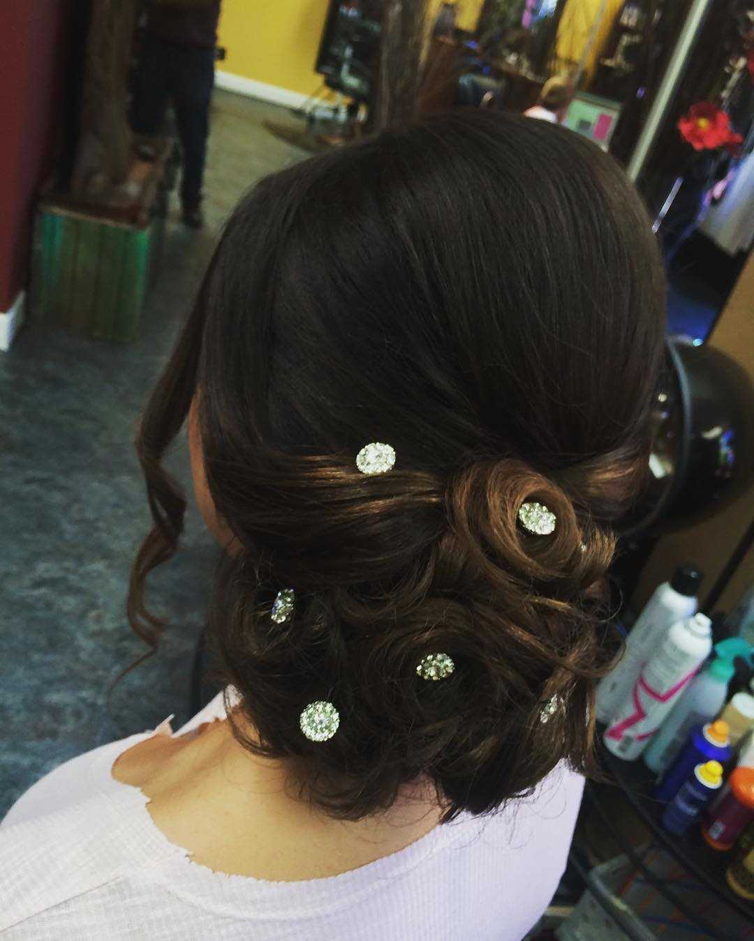 awesome updo hair style