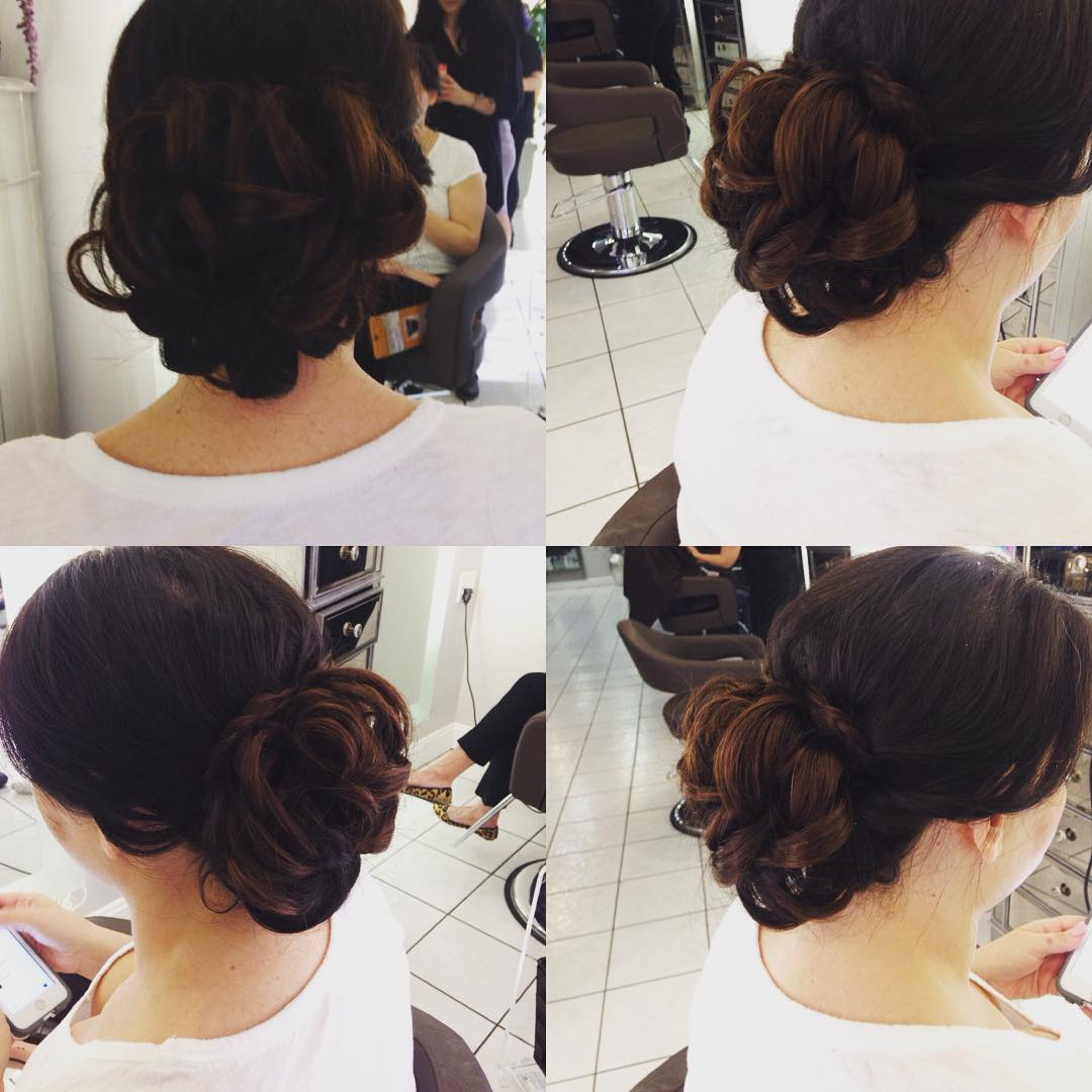 Updo Hair Style For Bridal