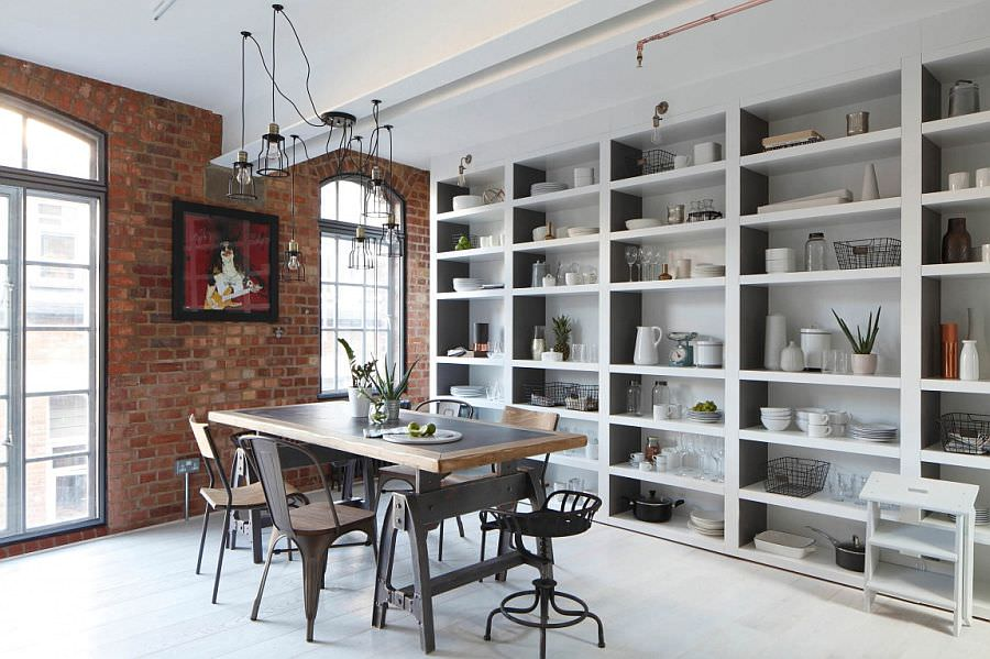 Fabulous Chic Industrial Dining Room Design
