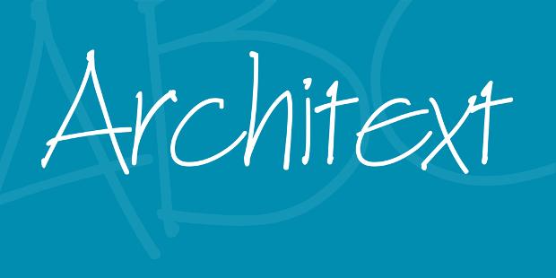 Architext Thin Font