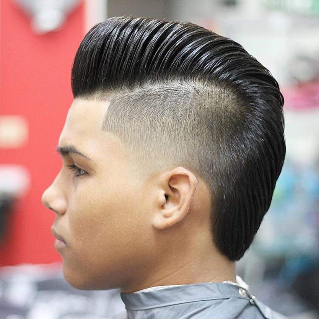 High Taper Fade Haircut Design