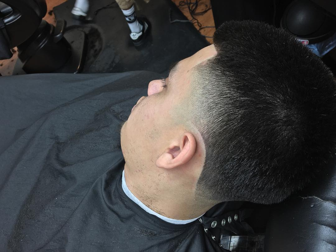High Taper Fade Hairstyle