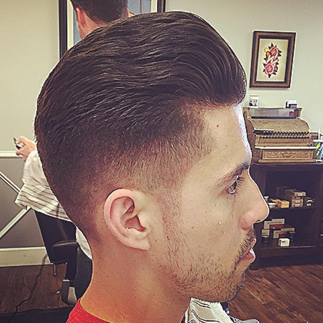 Male Taper Hair Style