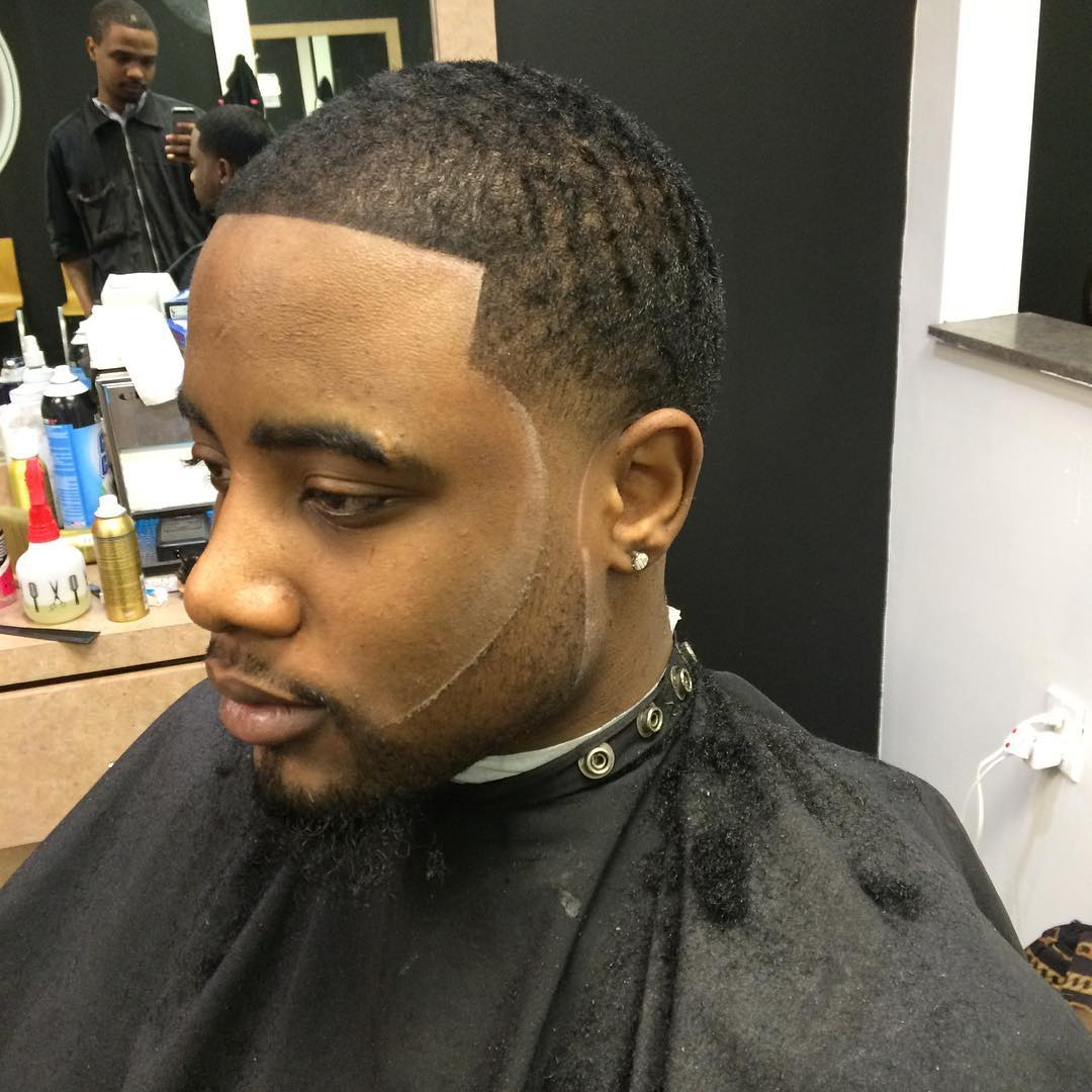 Tapered Hairstyle for Black Men