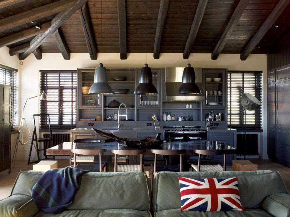 28 Chic Industrial Dining Room Designs Decorating Ideas Design Trends Premium Psd Vector