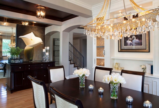 cute traditional dining room design