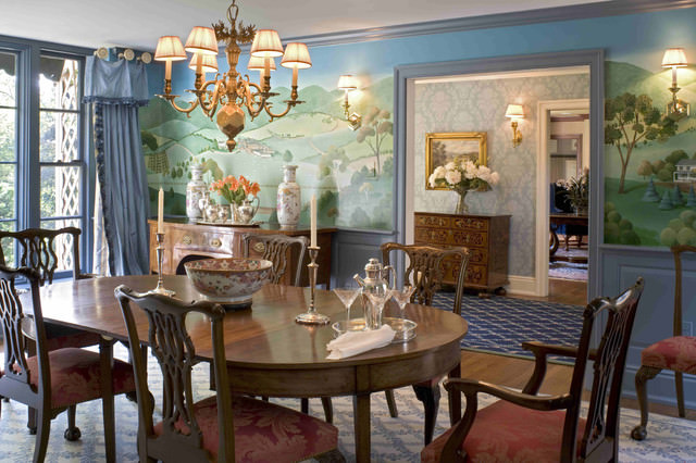 Formal Traditional Dining Room Design