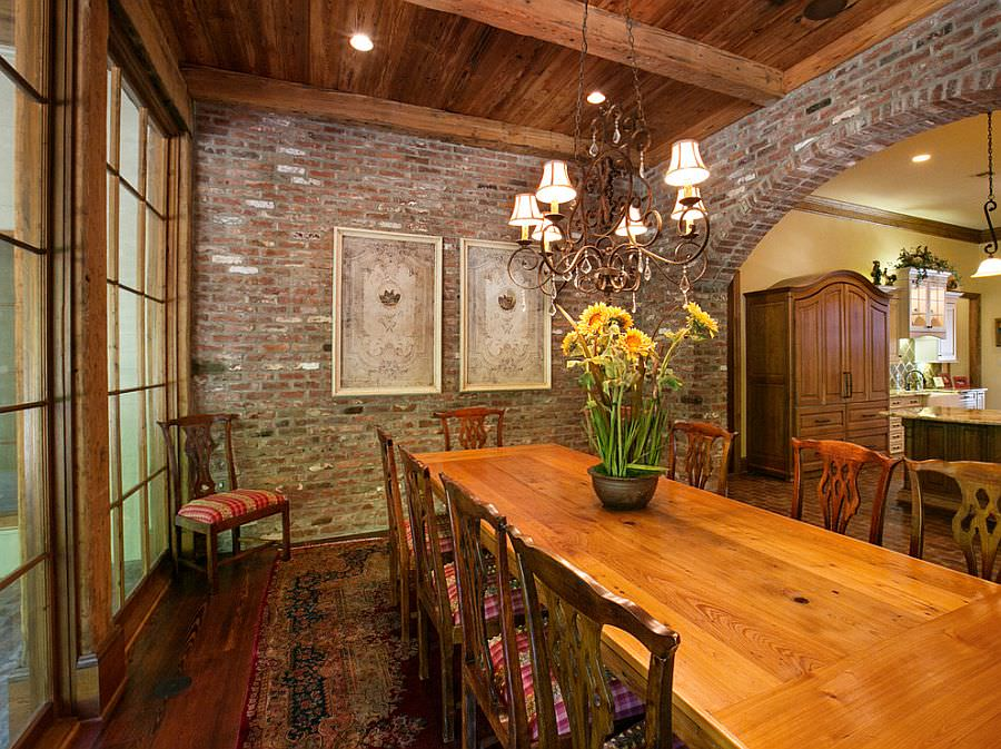 Vintage Traditional Dining Room Design