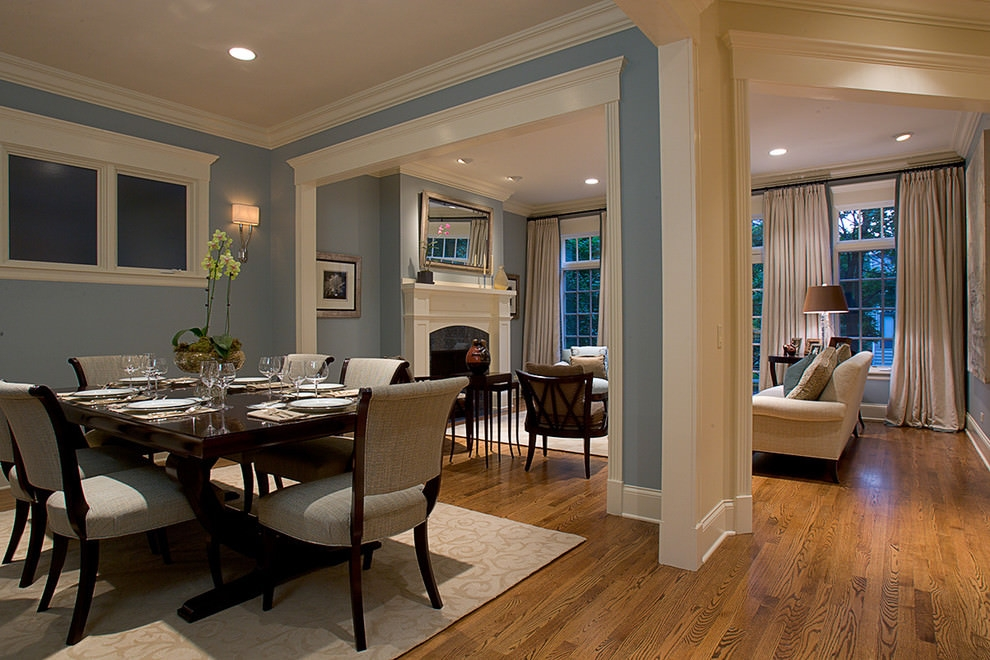 Traditional Dining Room Design With Magnificent