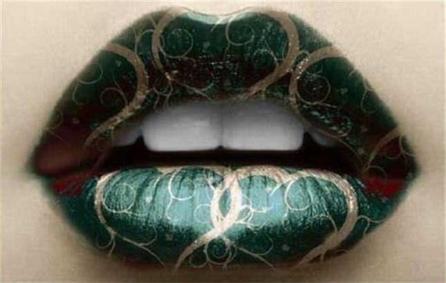 Cool Lip Make Up Design