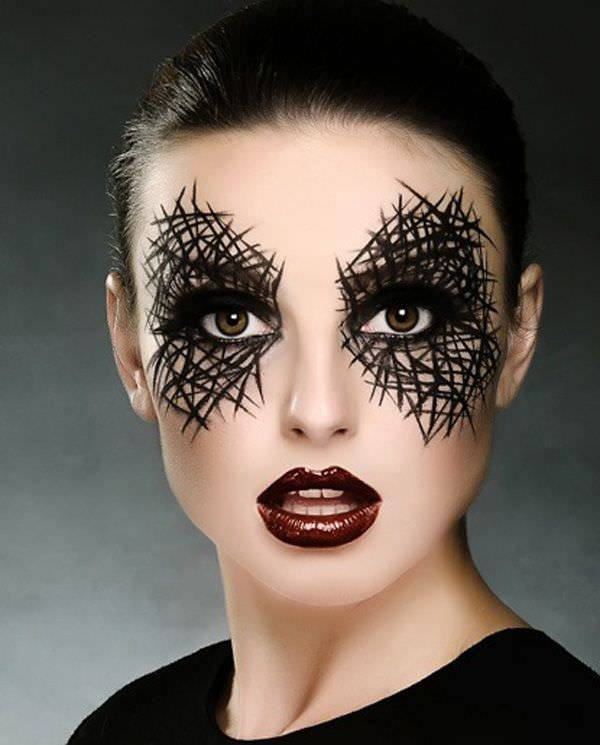 Awesome Cool Make Up Design