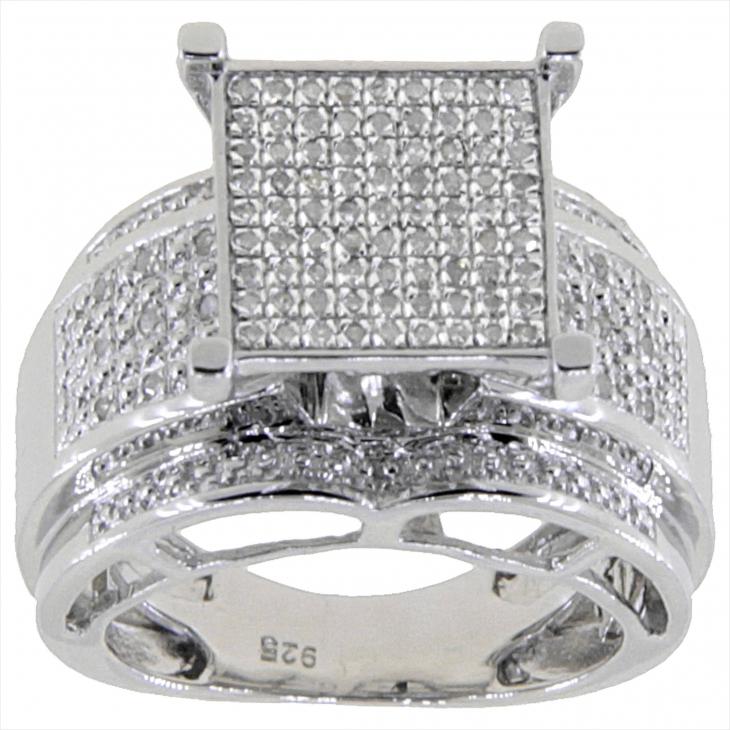 Glitter Square Ring
