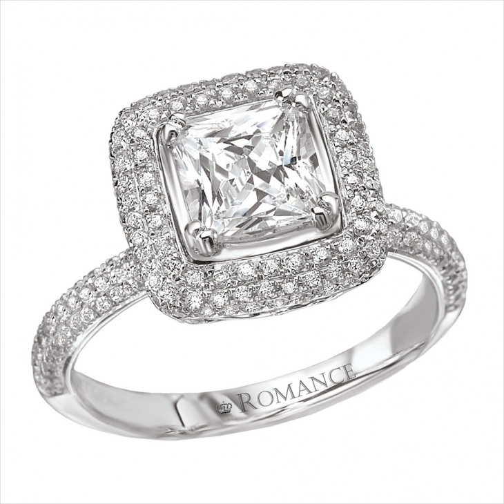 romantic engagement diamond