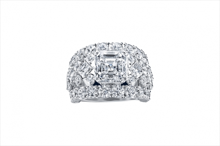 elegant square diamond