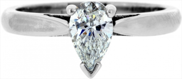 flawless pear diamond