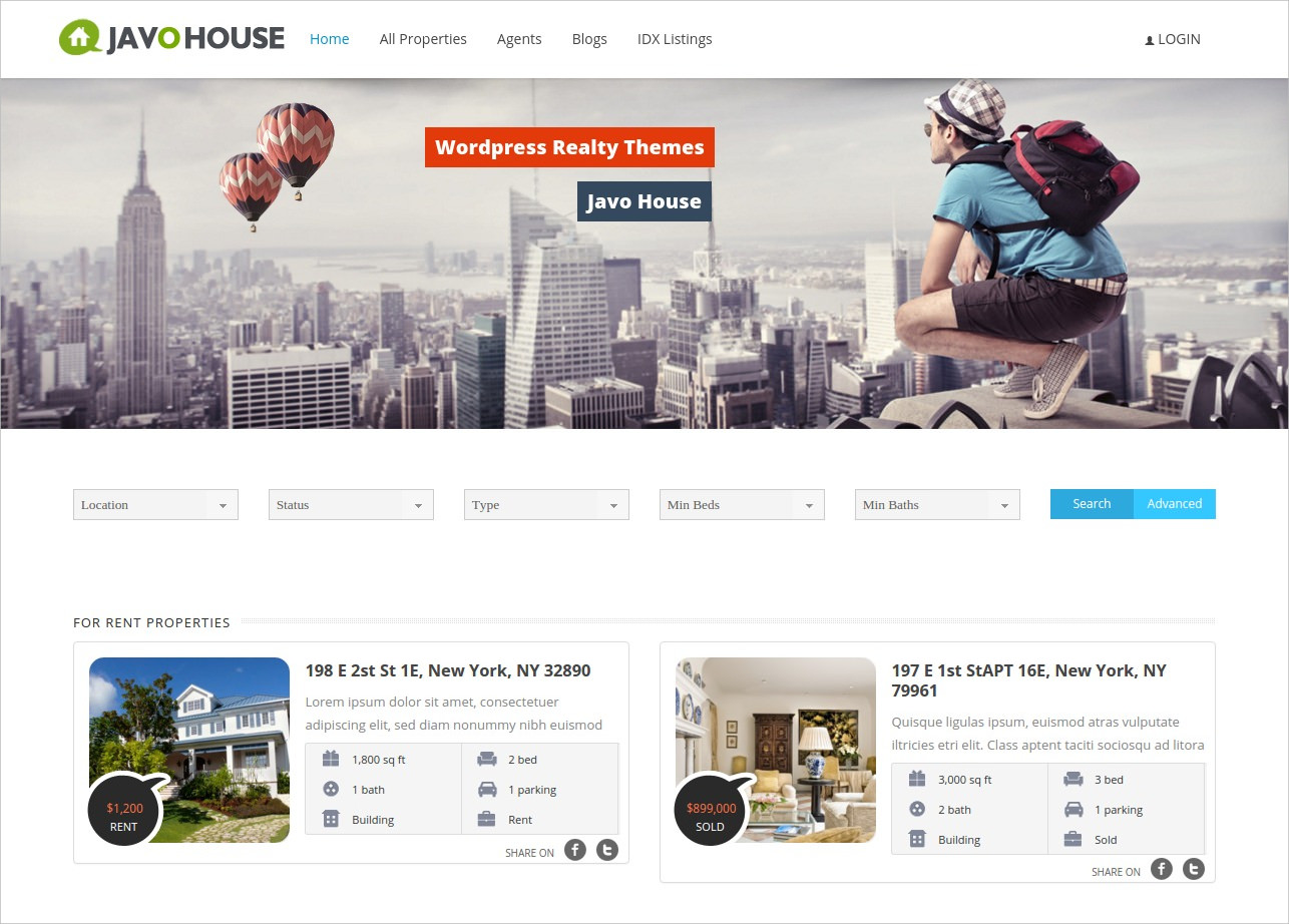javo house real estate wordpress theme 49