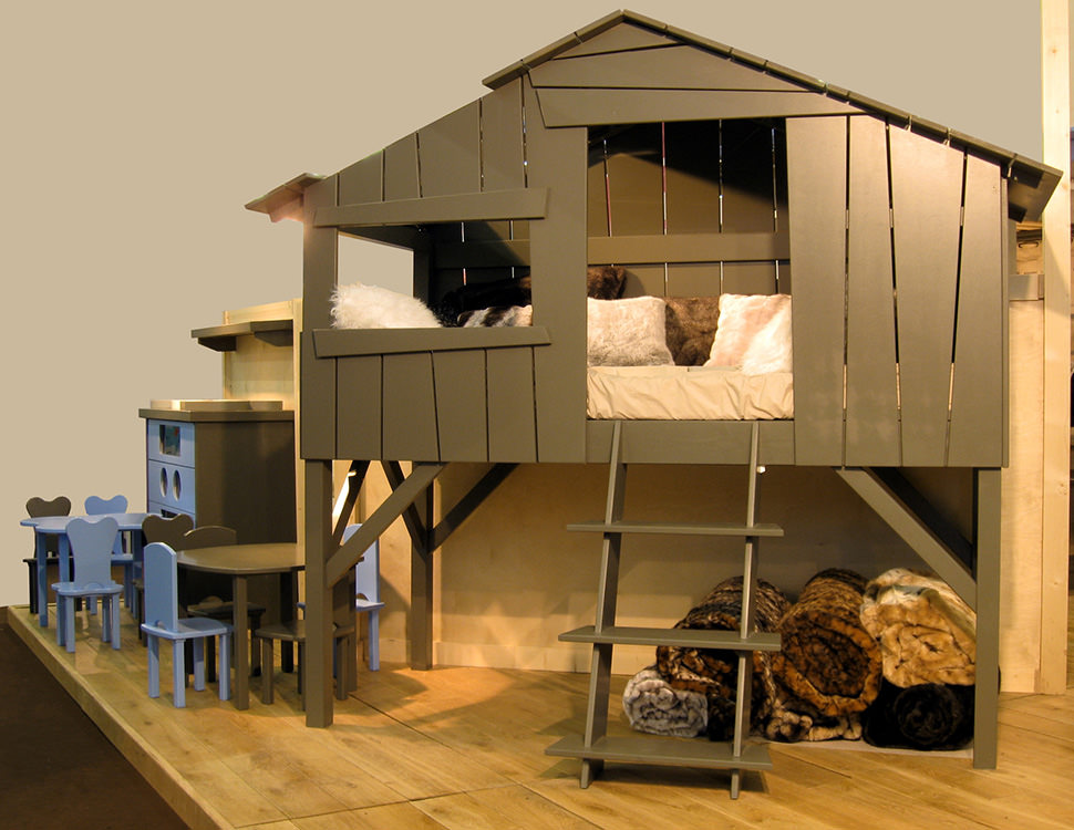 Treehouse Loft Bed Design