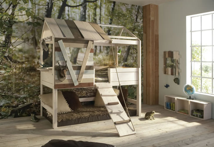 Life Time Treehouse Bed Design
