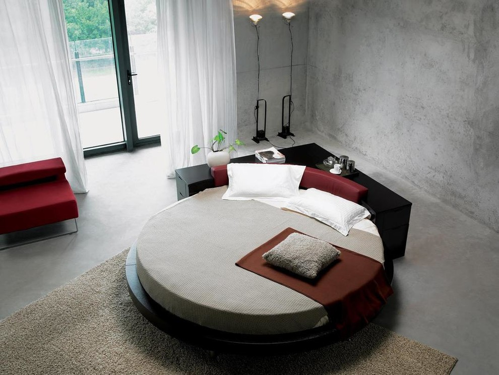 contemporary bed design looks beautiful