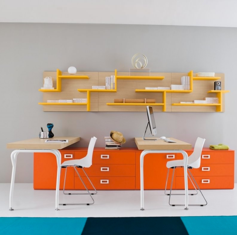 Bright Kid Study Table Design