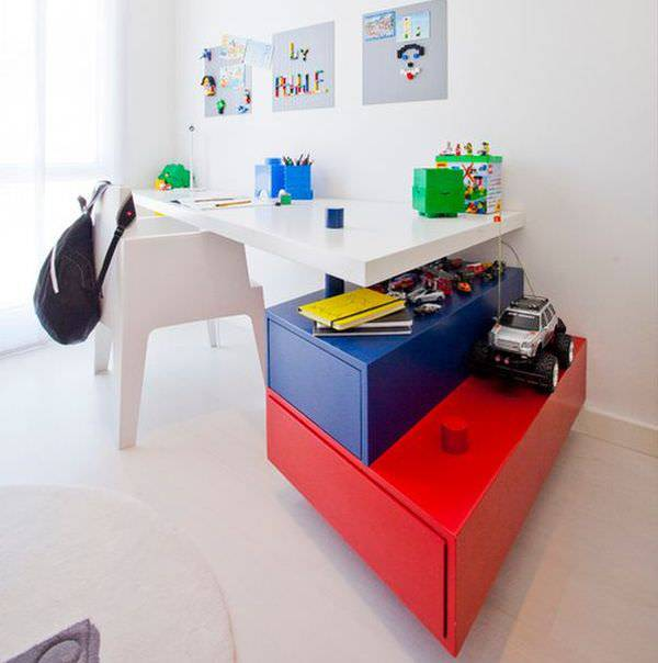 Stylish Kid Study Table Design