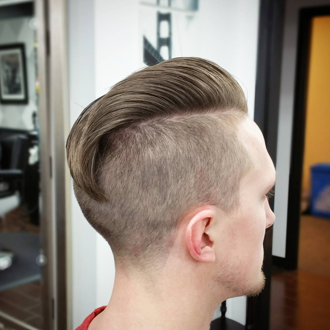 Soft Comb Over Hair Style