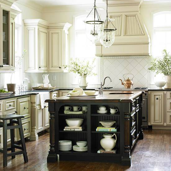 Oak Cabinets Kitchen Island Designs: 27+ Traditional Kitchen Designs, Decorating Ideas