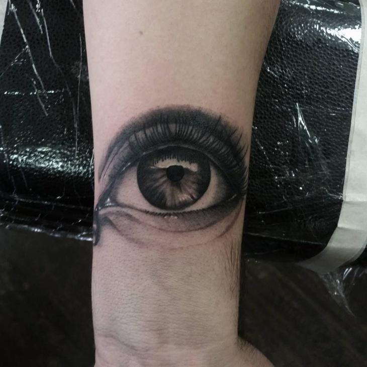 3d wrist tattoo design