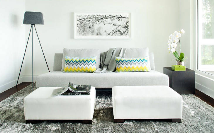 Small White Sofa Design