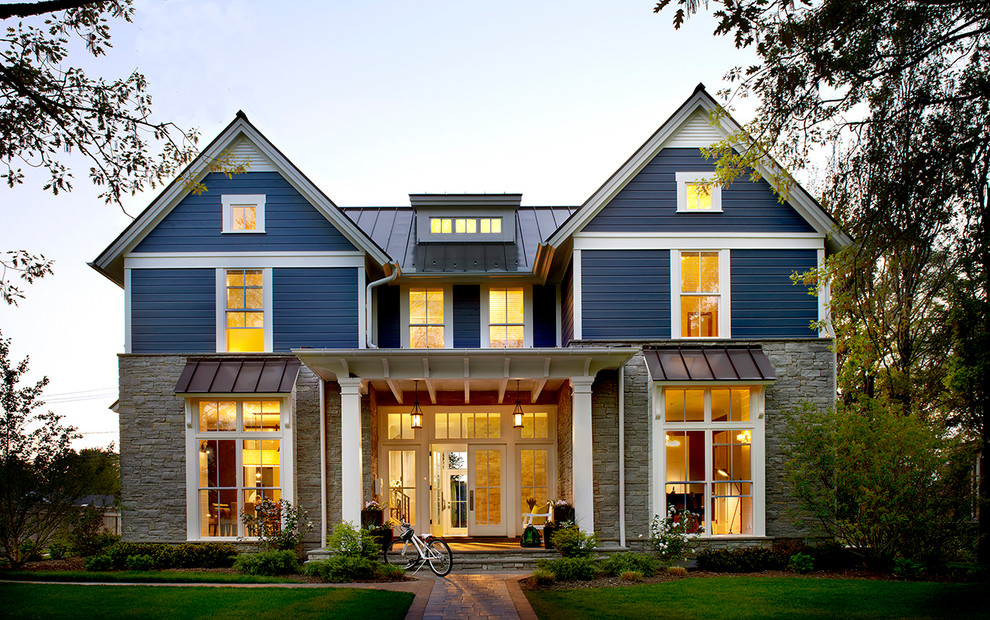 26 farmhouse exterior designs ideas design trends for What is exterior design