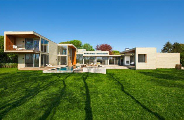 modern view exterior design