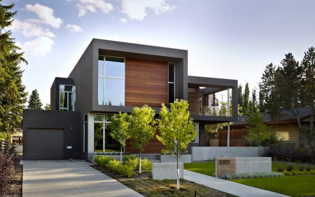 big modern exterior design