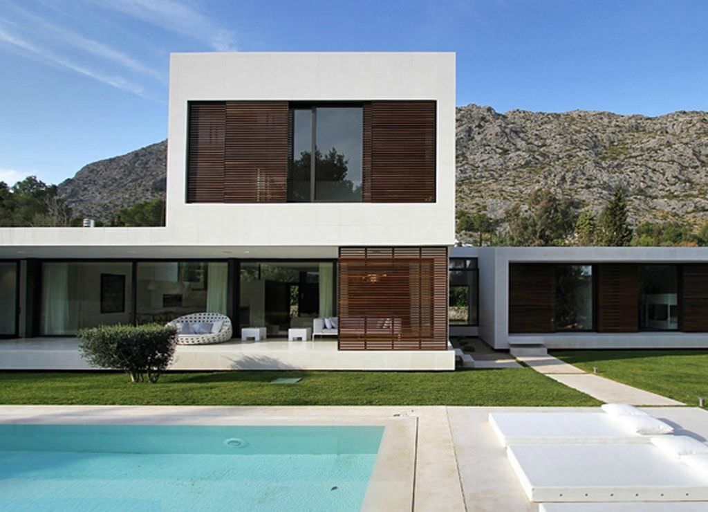Modern Houses Interior And Exterior 16+ Modern Exterior De...