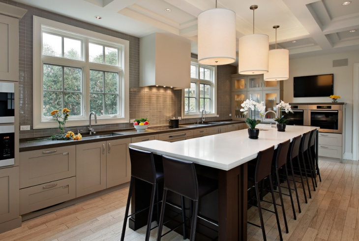 Transitional Home Kitchen Design