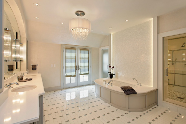Transitional Home Bathroom Design