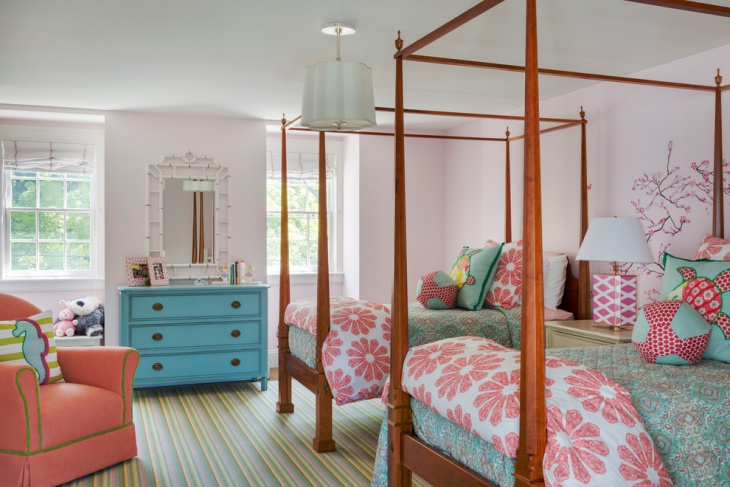 Transitional Kid's Bedroom Design